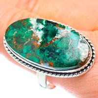 Huge Chrysocolla 925 Sterling Silver Ring Size 12 Ana Co Jewelry R52937F