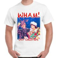 Last Christmas Wham George Michael Cool Vintage Retro T Shirt 492