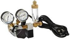 Milwaukee MA957 CO2 Regulator with 115Volt Solenoid and Bubble Counter