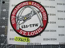 USAF AIR FORCE Squadron Patch 131st TACTICAL FIGHTER WING Phantoms 1979-1991