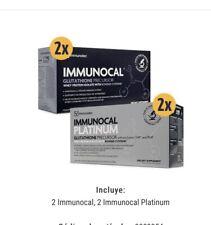 Promo 🎉IMMUNOCAL PLATINUM & CLASSIC  by IMMUNOTEC. 4 Boxes 120pk