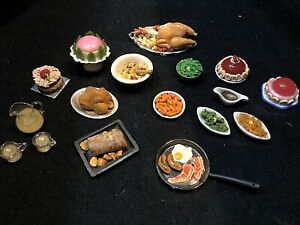 Vintage Dolls House 1/12 Artisan Food