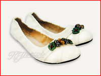 New Classic Casual Cute Lady Ballet Flats Comfort White PU Leather Women Shoes