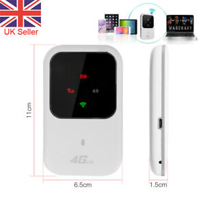 Unlocked 4G-LTE Mobile Broadband WiFi Router Wireless Portable MiFi Hotspot UK