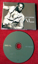 SEAL Get It Together +2 2003 GERMANY MAXI CD wie NEU MINT rare oop MCD Soul POP