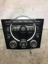 Mazda RX-8 CD Player Radio 6 CD Changer Climate unit FE50 66 DSXA