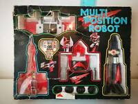 Danguard Multi Position Robot Vintage Toy 1979 Made In Hong Kong
