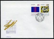 Liechtenstein 1993 FDC Mi-Nr. 1054-1055 Europa: Zeitgenössische Kunst