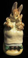 Beatrix Potter Mommy Baby Bunny Bank - ENESCO