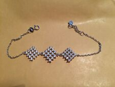 Silver Shiny Bracelet 925 Sterling Silver Imperial Candle Jewellery Worth £30