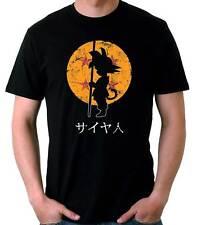 Camiseta Hombre Goku Dragon Ball manga anime t-shirt manga corta