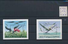 LO04615 Antigua & Barbuda overprint birds animals sheets MNH cv 50 EUR