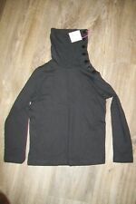 Anais & I-charcoal girls cotton rollneck top.8y.BNWT.RRP 38£