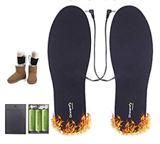 Thermal Soles Battery Operated Heated Shoes Insoles for Men and women, New