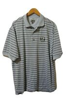 Adidas Climacool Mens Fernandina Beach Golf Club Polo Shirt Size L Short Sleeve