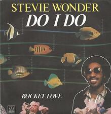 STEVIE WONDER Do I do FRENCH SINGLE MOTOWN 1982