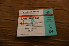 TICKET FLEETWOOD MAC 1980  UK