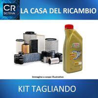 Kit Filtri Tagliando Mitsubischi Payero IV 3.2 DI-D + 10 Litri Olio Castrol 5W30