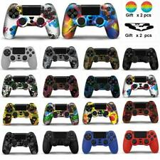 Colorful Silicone Gamepad Controller Case Skin Grip Cover For PS4 Playstation 4