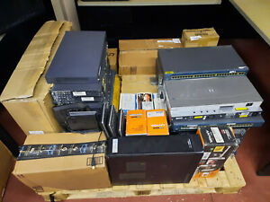 Bulk Lot of Assorted IT Goods, computer & tablet accessories, Cisco/HP Switches