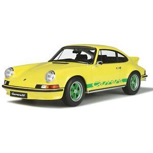 Porsche 911 2,7 RS 1/12 jaune - GT Spirit GT733