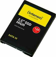 """Intenso SATA III High Performance 120GB 2,5"""" Disco a Stato Solido - Nero"""