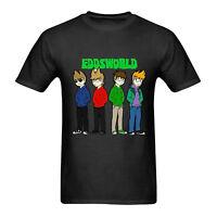 Eddsworld Tshirt New Men's Black T-Shirt Tee Size S to 3XL