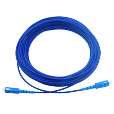 200M Armored Cable Fiber Patch Cord SC to SC SM 9/125 3.0mm Single Core DHL Free