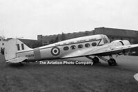 RAF Avro Anson C.19 PH858 at South Cerney (1964) Photograph