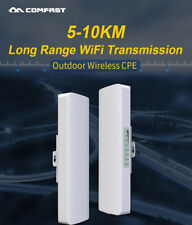 5-10km WiFi Router 300Mbps Outdoor Access Point 5.8G CPE Bridge Wireless AP cf1