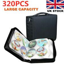 More details for 320x cd dvd disc carry case holder protector storage bag wallet binder sleeve uk