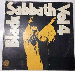 Black Sabbath Vinyl Vol.4 1972