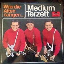 LP' Medium Terzett   >Was die Alten sungen<  Polydor TOP! WERNER TWARDY