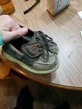 Sperry Size 9 Toddler Boy Shoe