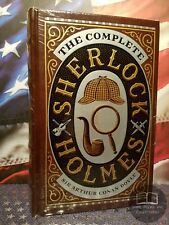 NEW SEALED The Complete Sherlock Holmes by Sir Arthur Conan Doyle Bonded Leather