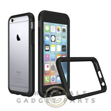 Apple iPhone 6/6s Rhino Shield Crash Guard Bumper 2.0 - Black Cover Shell Case