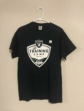 oakland raiders training camp 2014 player signed t-shirt, NFL Collector's Item