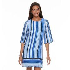 NWT Apt. 9 Strappy Cutout Shift Dress size 4 Small