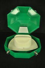 Resistol Self Conforming Light Gray Diamond Horseshoe Western Hat 7-1/8 W/ Case