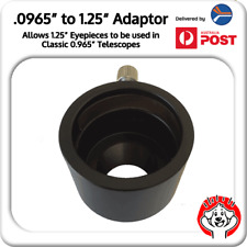 "0.965"" to 1.25"" Eyepiece Adaptor for Telescope (24.5mm-->31.75mm)"