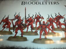 Bloodletters of Khorne Chaos Daemons Demons Warhammer 40k 40,000 Model New!