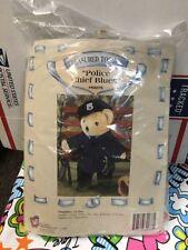 Police Chief Blues Treasured Toggery Nib for 12� Bears or Plush Dolls