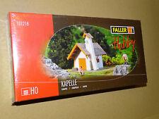 FALLER ( 131218 ) BELLE MAQUETTE D'UNE CHAPELLE NEUVE EN BOITE SOUS BLISTER H0