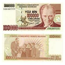 Türkei 100000 Lira 1997 Pick 206 Unc. / 2811019##