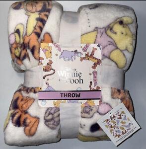 Disney Winnie The Pooh Soft Throw Blanket Primark Exclusive - 120CM X 150CM
