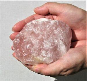 Natural Large Rose Quartz Crystal Large 650g  (RQ94)