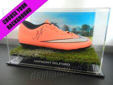 ✺Signed✺ ANTHONY MILFORD Football Boot PROOF COA Brisbane Broncos 2017 Jersey