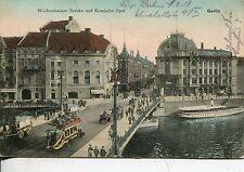 Frankierte Ansichtskarten vor 1914 aus Berlin mit dem Thema Straßenbahn
