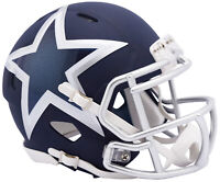 Riddell NFL Dallas Cowboys AMP Alternate Speed Mini Football Helmet Cowboys Mini