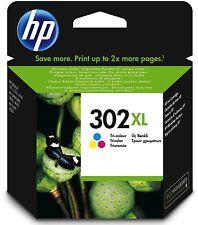 HP 302XL Farbe Original Druckerpatrone mit hoher Reichweite für HP Deskjet